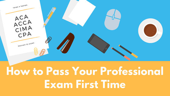 How to Pass Professional Exam First Time