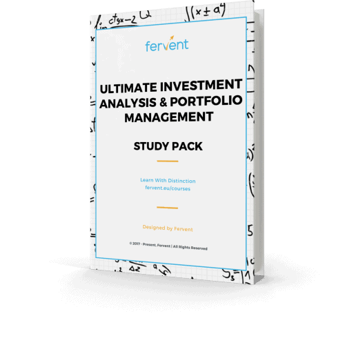Ultimate Investment Analysis and Portfolio Management Study Pack