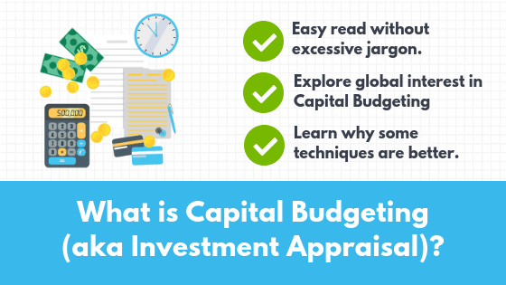 What is capital budgeting - feature image