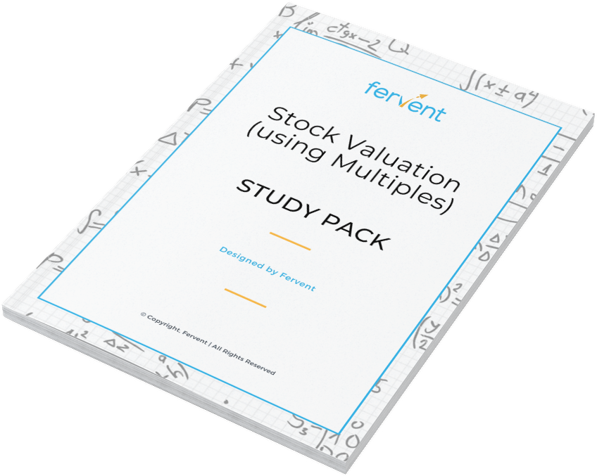 Stock Valuation (using Multiples) Study Pack Feature